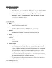 ARCH 407 Research Paper Notes