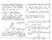 Stat 531 Maximum Likelihood Notes