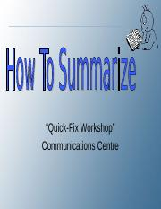 How to Summarize__xid-11740673_2.ppt