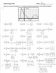 Definite Integral HW 1 Key and Blank (1).pdf
