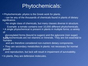 11:03:11 - Phytochemicals