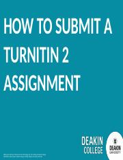 How to upload a Turnitin 2 Assignment in Moodle 3.pptx