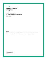 HPE InfoSight for Servers User Guide.pdf