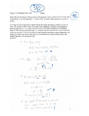Midterm Physics 132 Page 1