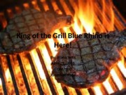 King of the Grill Blue Rhino is Here week 5