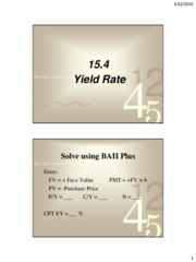 15.4 yield rate solutions[1]