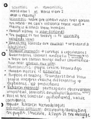 World View1 vs World View 2 ClassNotes