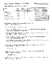 Worksheet 7 (1.6) Solutions