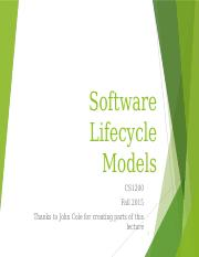 SoftwareLifeCycle