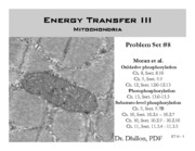 Energy Transfer III part a to post