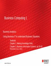 S08 Using Business IT to understand Business Situations 2015 v2(1)