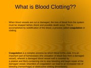 What is Blood Clotting
