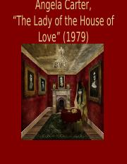 lady of the house of love.ppt