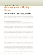 Principles Of Economics Chapter 20