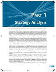 BA 439 Strategy Analysis