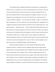 Gilgamesh essay for Greek myth
