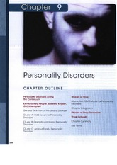 Chapter-9-Personality-Disorders