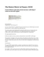 Article 2 The Hottest Metric in Finance (1)