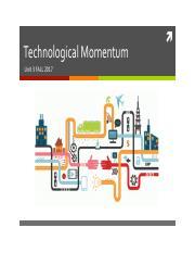 technological momentum