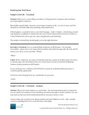 requesting informational interview