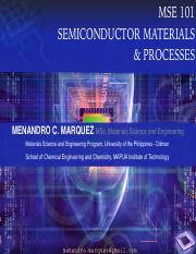 MSE101 SEMICONDUCTOR MATERIALS AND PROCESSES LECTURE NOTES 01.pdf