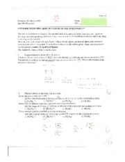 CHEM 6A QUIZ 3 STUART