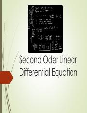 Chapter 2 Second Oder Linear Differential Equation - Full.pdf