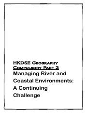 Managing River and Coastal Environments (第四版)