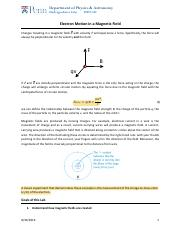 102_Electron_in_Magnetic_Field