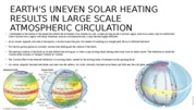 Earth's Uneven Solar Heating Results in Large Scale