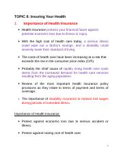 3143TOPIC 8 Insuring your health.doc