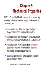Lecture Notes 06 Mechanical Properties