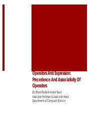 Lecture-4.3-C Precedence And Associativity Of Operators.pdf