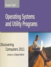 Chapter 08 Operating System & Utility Programs.ppt