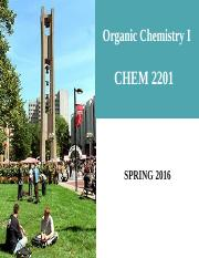 CHEM 2201_SPRING 2016_[Ch 8] Lecture.pptx