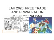 LESSON 25  - Privatization and Freee Trade-OL