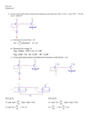 ECE 407 Homework 2 With Solution
