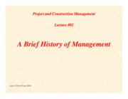 PCM-Lecture02-History-of-Management
