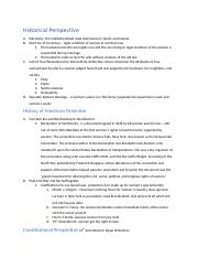 Unit one exam women and law notes