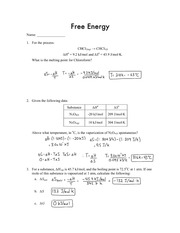 Free Energy Assignment
