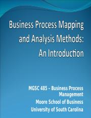 2.2 Process Mapping and Analysis Methods Introduction(1).ppt