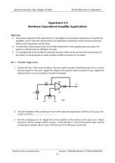 Ex.5, Nonlinear Op-amp applications, 2013