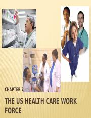 THe HEALTH CARE WORK FORCE (3)