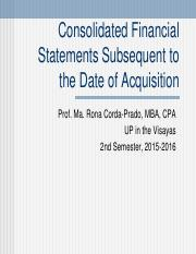 3 - Consol FS-Subsequent to Acquisition.pdf