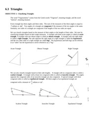 MATH 1023 Section 6.3 Notes