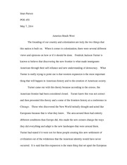 POS450 Colonization Essay