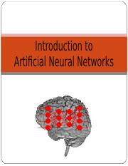 1- Introduction to Neural Network.ppt