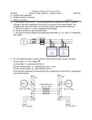hadi saadat power system analysis solution manual pdf