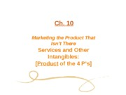 Ch. 10 Services & Intangibles