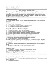 econ 121 study guide mid-term